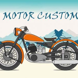Aliran Custom (Modifikasi) Motor